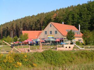 """Hochbau Gastronomiegebäude """"Arche"""", Zweckverband Brombachsee"""